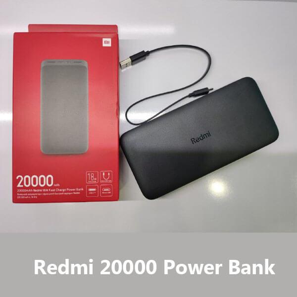 قیمت پاور بانک شیائومی 20000 redmi