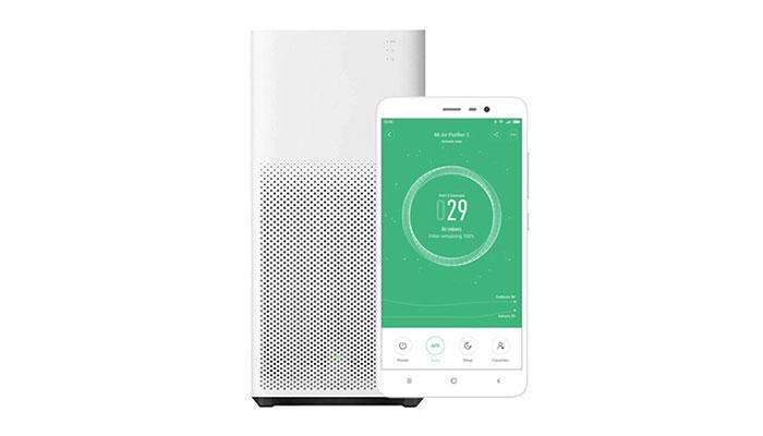 کنترل کیفیت هوا از طریق app گوشی