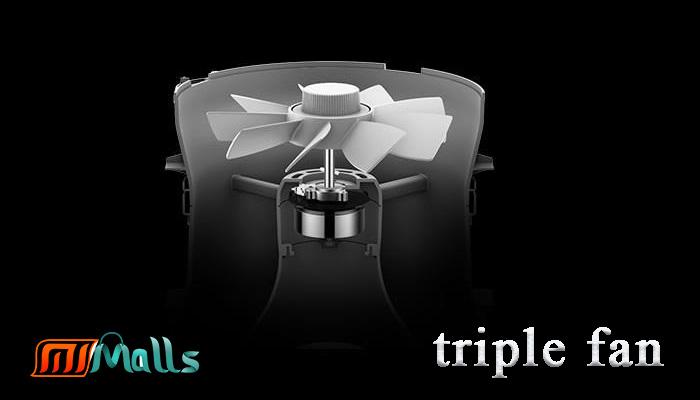 فیلتر 3 لایه و موتور قدرتمند