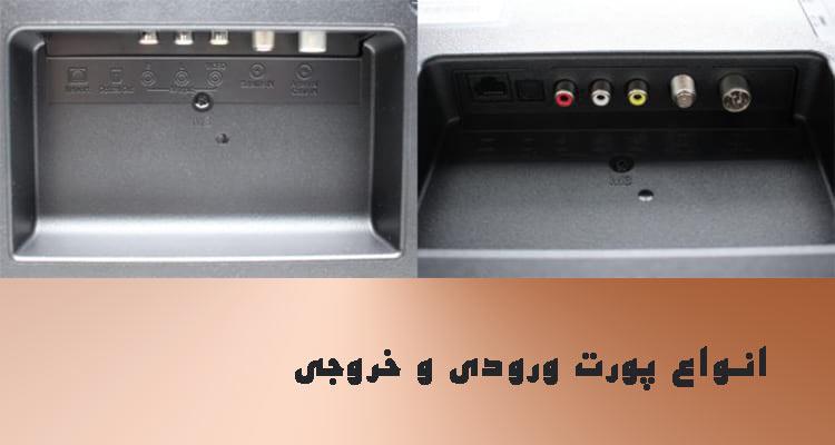 پورت ورودی و خروجی آنتن قیمت تلویزیون شیائومی 55 اینچ