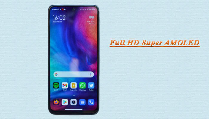 نمایشگر Full HD Super AMOLED