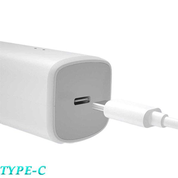 شارژ دهی از طریق کابل type-c